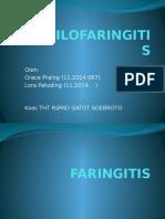 Tonsilofaringitis Referat- RSPAD GS- GP -PPT