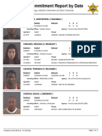 Peoria County Jail booking sheet 5/31/2016