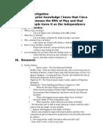 webquest answer sheet - spanish cinco de mayo