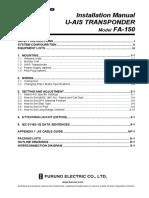 Furuno fa-150 ais installation manual