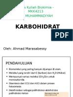 Kuliah-5 KARBOHIDRAT