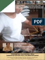 TA Pelayanan Sosial Dasar Kapuas Hulu - Laporan Februari 2016