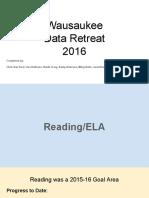 data retreat 2016