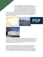 La Represa de Caruachi es un embalse de agua localizado a más de 60 kilómetros aguas abajo del Embalse de Guri.docx