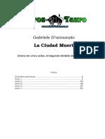 D'Annunzio, Gabriele - La Ciudad Muerta