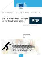 Best Environmental Management Practice in the Retail Trade Sector