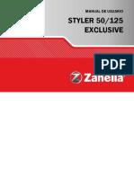 Manual Zanella 125 Exclusive