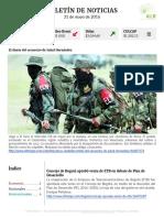 Boletín de noticias KLR 31MAY2016