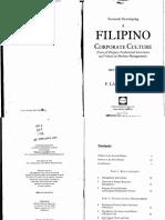Filipino Corporate Culture