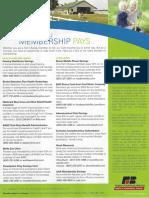 Farm Bureau Membership Benfits Discounts Brochure