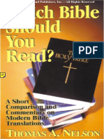 Which Bible (Catholic) Should You Read?
