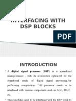 dsp blocks interfacing