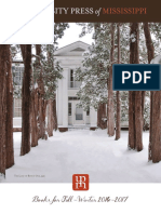 Fall-Winter 2016 - 2017 Catalog of Books from University Press of Mississippi