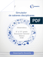 PRUEBA SER MAESTRO Matematica8-10EGB