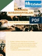 Neumonía intrahospitalaria