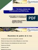 Diseño y Tecnologias en Voladura Superficial