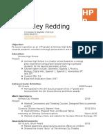 hailey redding tpol resume final