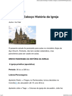 Panorama_Esboço História Da Igreja