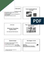 Curso Emergencia Clinicas - Sd. Coronarias Agudas 2015 Med Cel