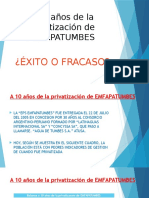 A 10 Años de La Privatización de EMFAPATUMBES v2.0
