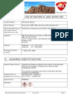HDS Ammonium Nitrate