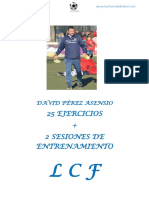 25 Ejercicios de Futbol