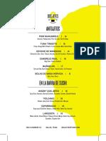 Dos Jefes food and drink menu