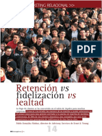 Retencion vs Fidelizacion vs Lealtad