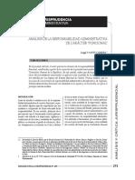 Responsabilidad Administrativa Funcional CGR