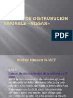 distribucion variable nissan