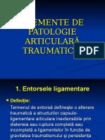 Patologie Articulara Traumatica