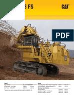 Escavadeira hidráulica Cat-6018