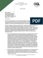 saw letter to gov