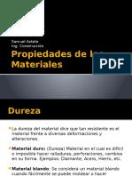 Clase 1 - Propiedades de Los Materiales