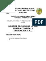 Compañia Minera Cobriza y Yanacocha s.r.l