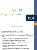 Topic 14 - Organizational Change