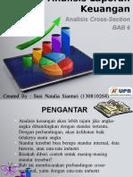 Bab 6 - Analisis Cross Section (Created by - Susi Natalia Sianturi 130810268) Ppt.