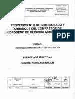 Arranque Del Compresor  C-12002