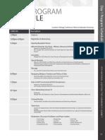 9LTC Program Schedule