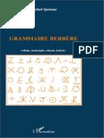 105506476 Grammaire Berbere Rifain Tamazight Chleuh Kabyle Par Michel Quitout