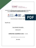 MANUAL MACROECONOM%CDA - 2013 - I -II++++