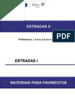 Estradas II - 4º Aula - Projeto de Pavimentacao (1)