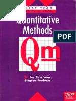 0 Quantitative Methods