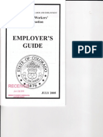 Workers' Comp Handbook Guidance