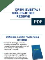 Marijana Mihajlović - Revizorski Izveštaj i Mišljenje Bez Rezerve