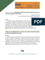 Análise de obras bibliográficas da história da música brasileira com base na teoria historiográfica de Jörn Rüsen