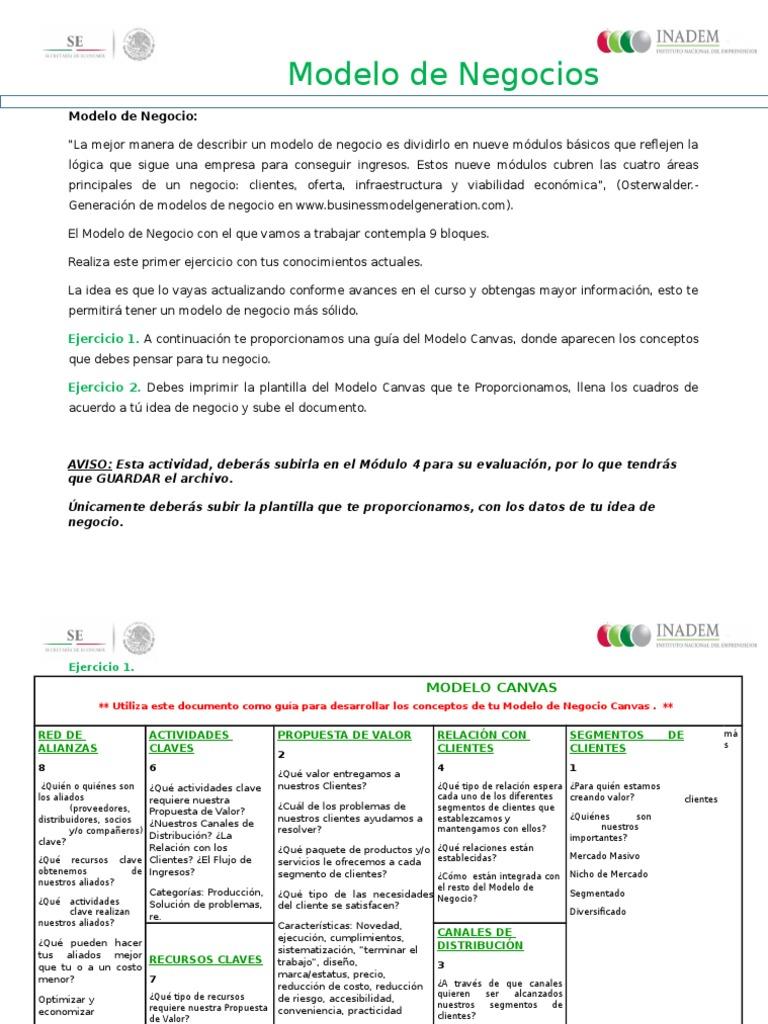 Moderno Plantilla De Propuesta De Idea De Negocio Elaboración ...