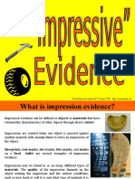 impression evidence