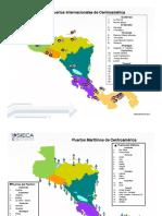 Puesrtos, Aeropuertos y Carreteras de Centro America
