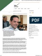 04-05-16 Para Octubre Se Dará Un Cambio Muy Importante en La Inseguridad de Hermosillo.